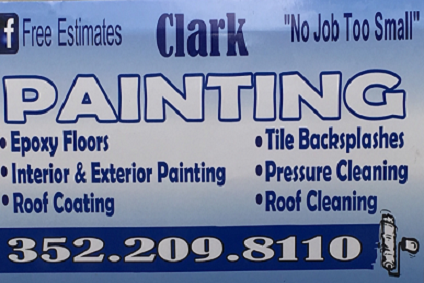 Clark Painting &<br>Pressure Washing